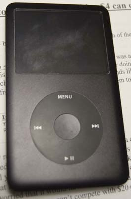 Scratched iPod Classic