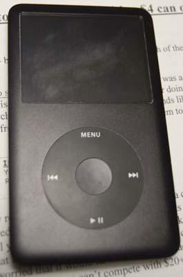 Scratched iPod Classic