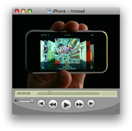 iPhone - Instead