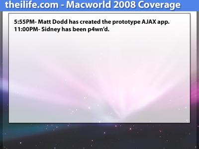 Macworld AJAX v1