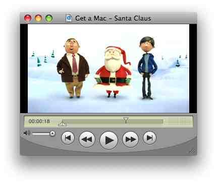Get a Mac - Santa Claus