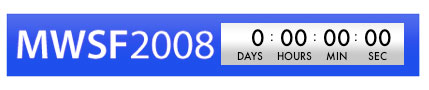 Macworld 2008 Countdown Widget