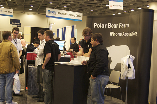 The Polar Bear Farm Booth