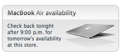MacBook Air Availability Checker