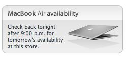 MacBook Air Availability Checker