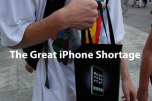 The Great iPhone Shortage