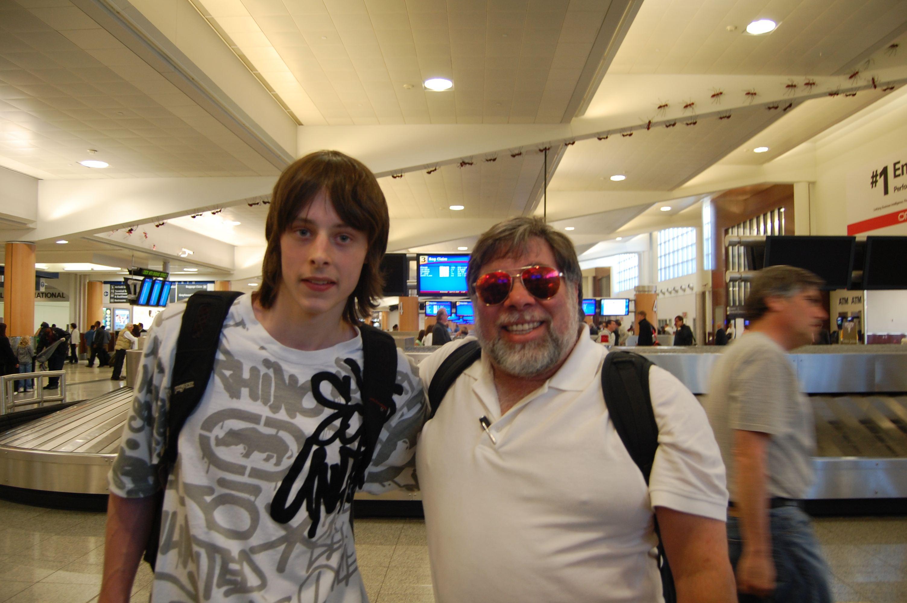 Meeting Steve Woz