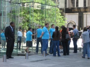 5th Ave Apple Store Closed For Commercial Filming