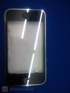iPhone 3G Case Model Plastic Black Front White