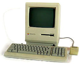 Beige Mac Plus