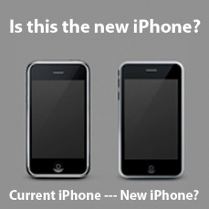 The new Second Generation 3G iPhone 2.0 Side By Side
