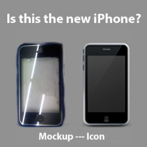 new iPhone Icon verus Mockup