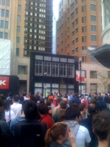 Apple Grand Opening Store Boylston Street Boston