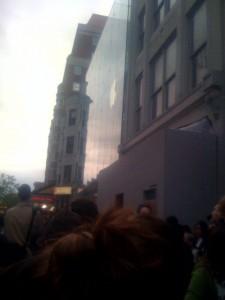 Apple Store Grand Opening Boylston Street Boston