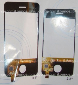 iPhone 2.8 and 3.2 inch touch screen components Host Optical iLounge