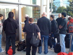 The First Few In The WWDC 2008 Keynote Line