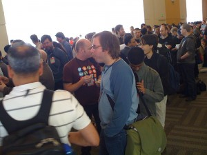 Crowd at the Line WWDC 2008