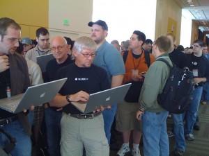 WWDC 2008 Crowd