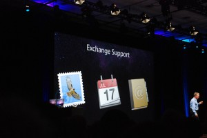 Mac OS X State of the Union Address 10.6 Exchange Support