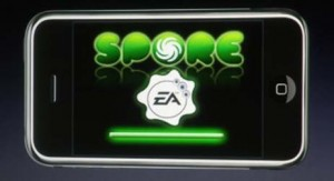 Spore on the iPhone