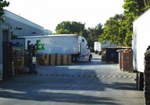 FedEx Trucks Moving These Mysterious Boxes