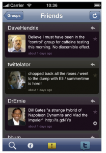 Twittelator Screenshot