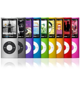 The all new iPod Nano 4G