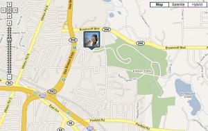 BrightKite Map View