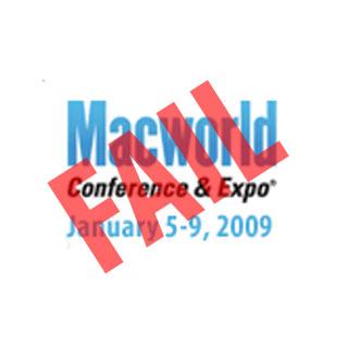 Macworld 2009 Fail