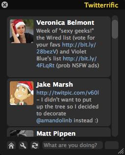 Twitterific Interface